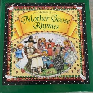 MOTHER GOOSE NURSERY RYMES BOOK